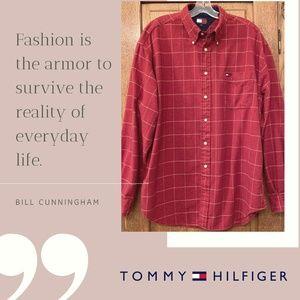 Tommy Hilfiger Long Sleeve Flannel Shirt
